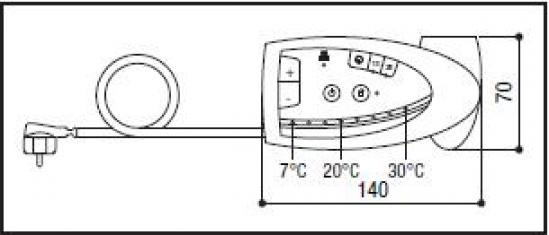 calorifere electrice de perete tonon forty burano 1000w